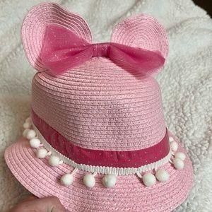 Minnie Mouse ears fancy pink hat